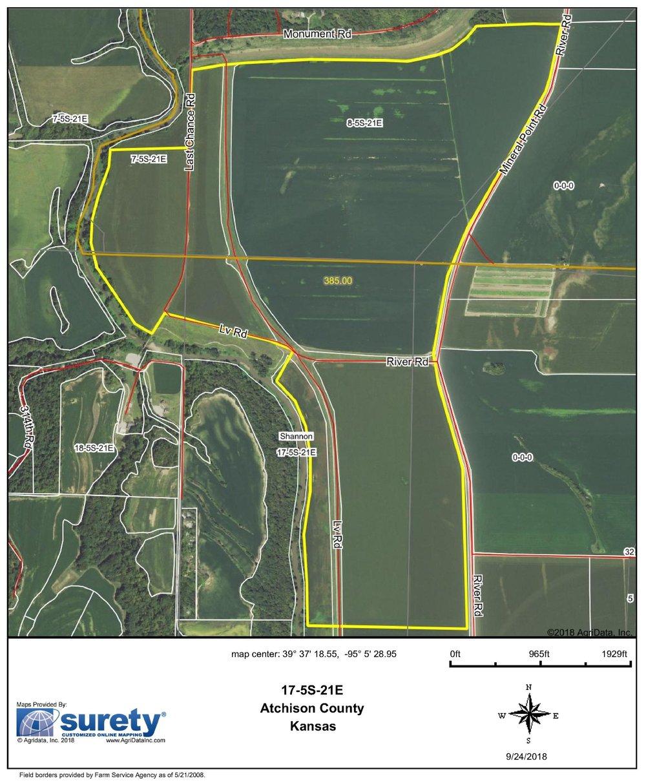 FSA Map: 385 Farm Acres