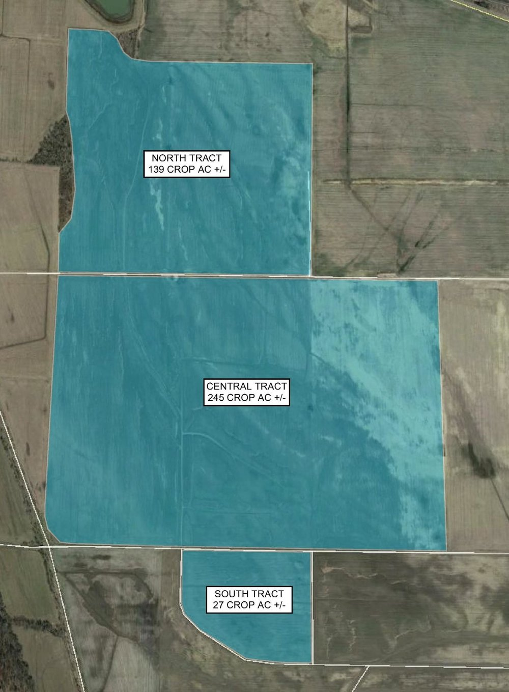Tract Map: 411 Crop Acres