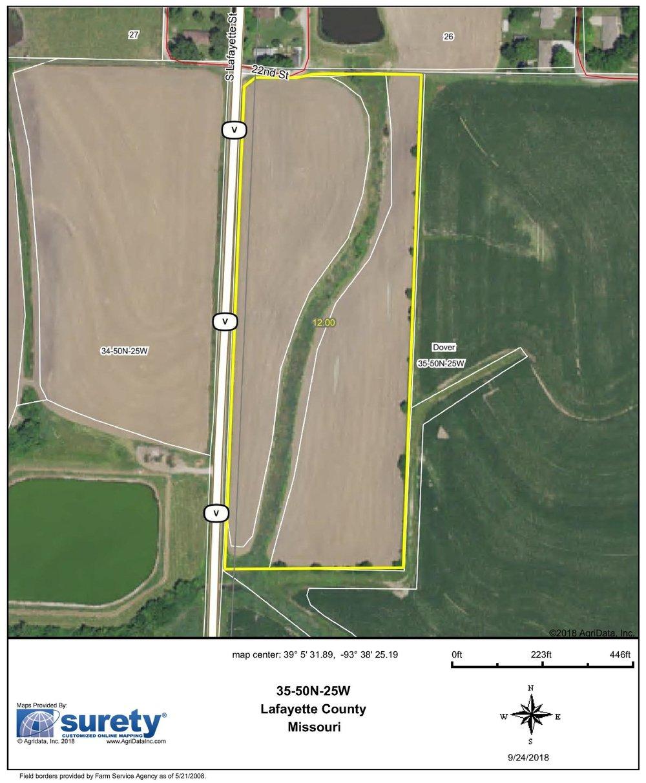 FSA Map: 12 Farm Acres