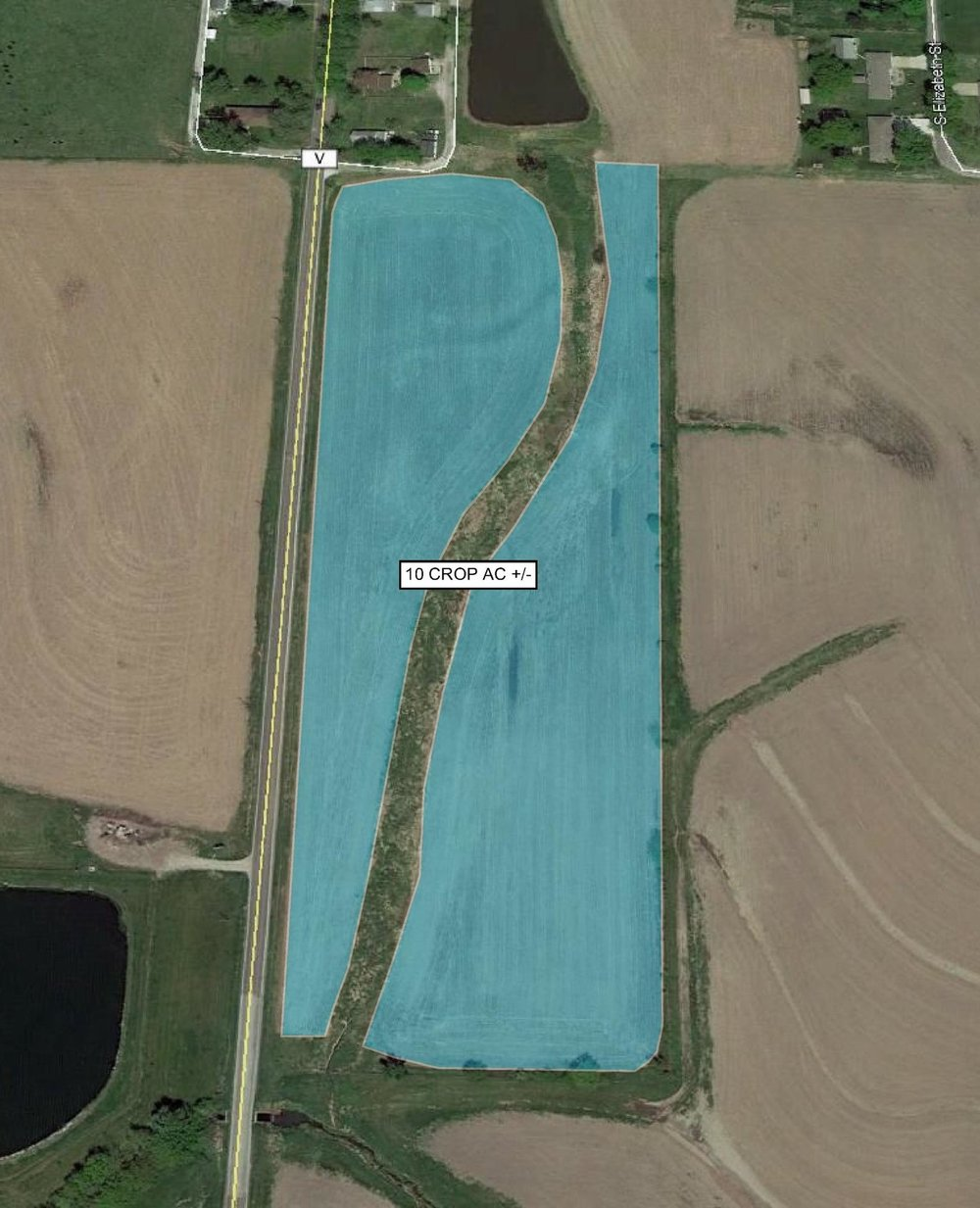 Tract Map: 10 Crop Acres