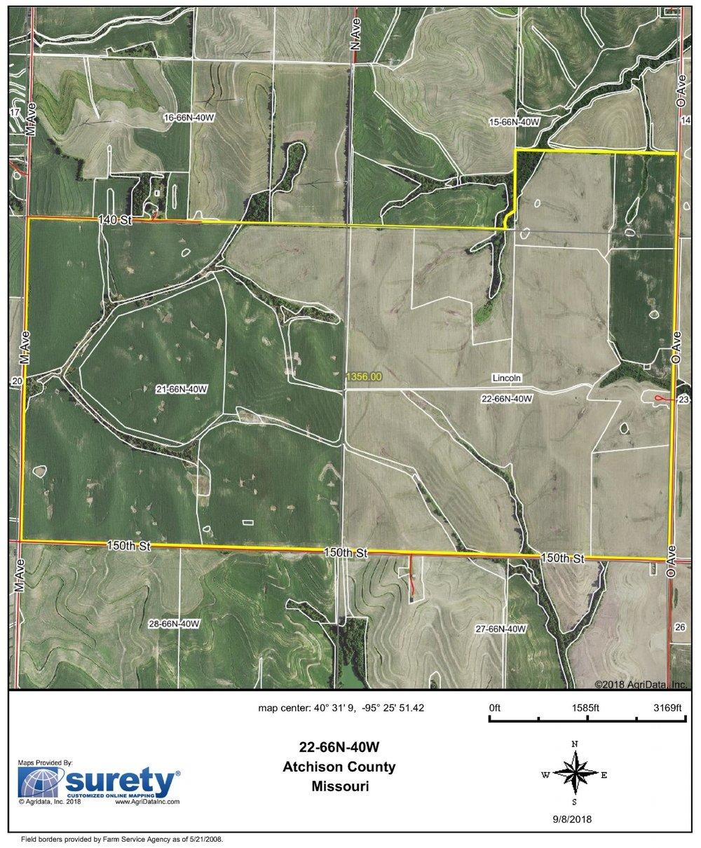 FSA Map: 1,356 Farm Acres
