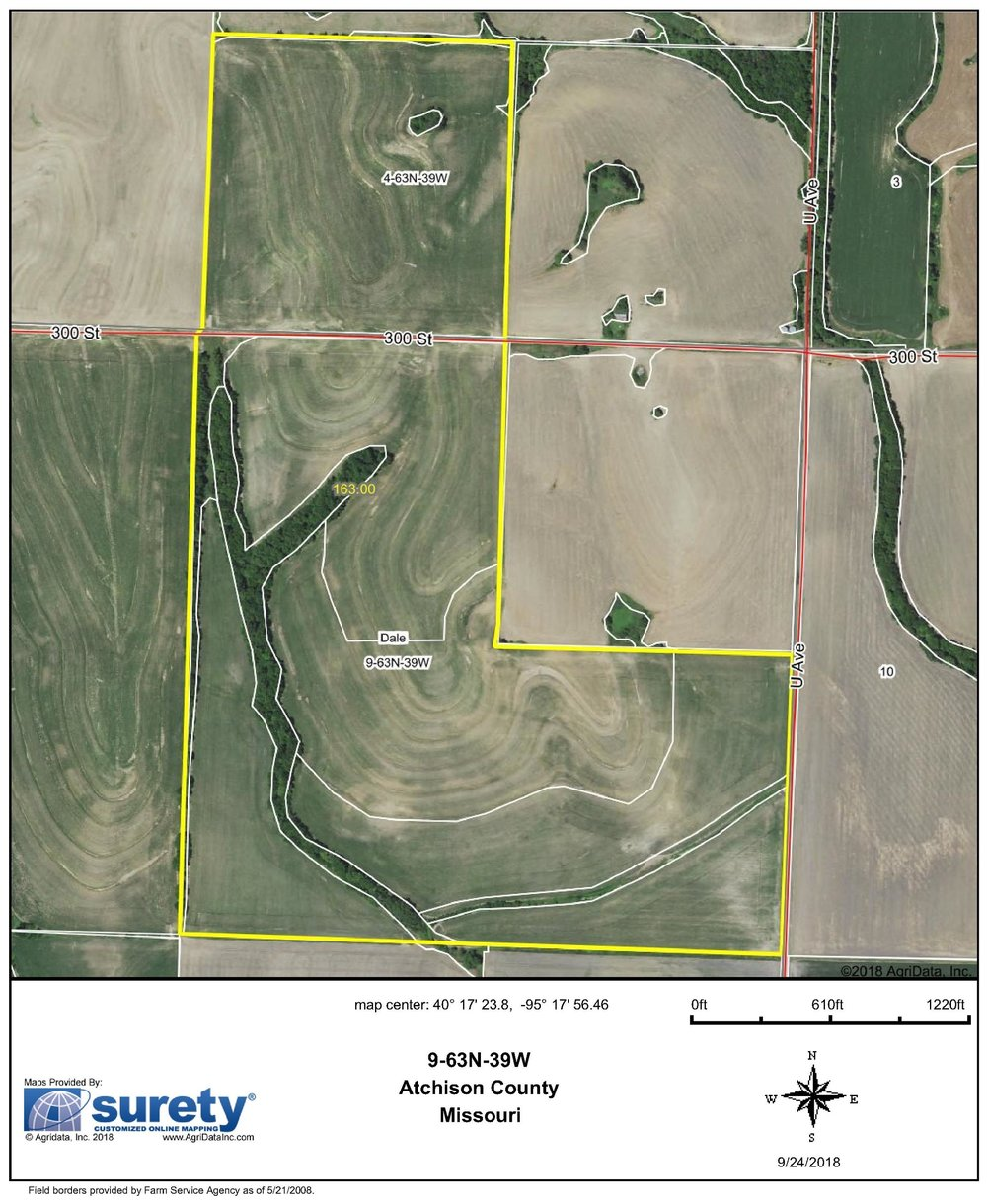 FSA Map: 163 Farm Acres