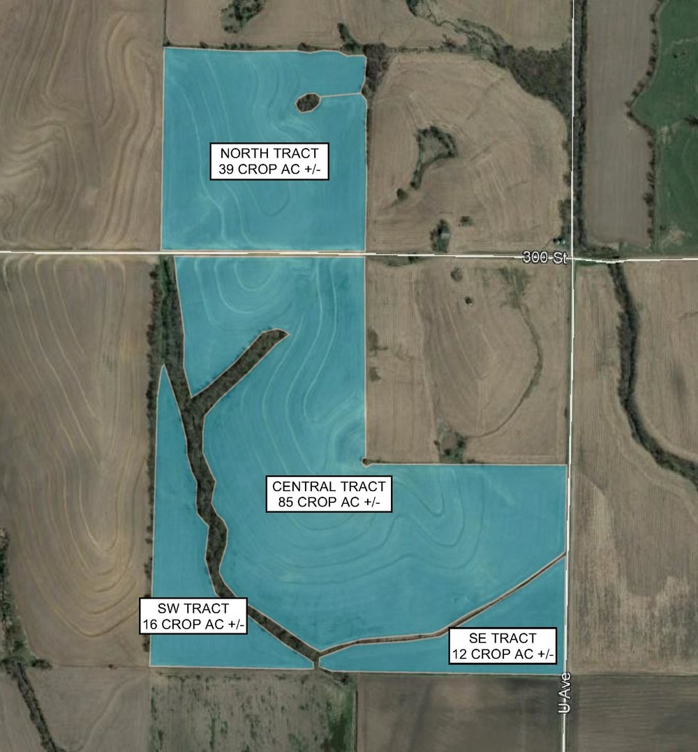 Tract Map: 152 Crop Acres