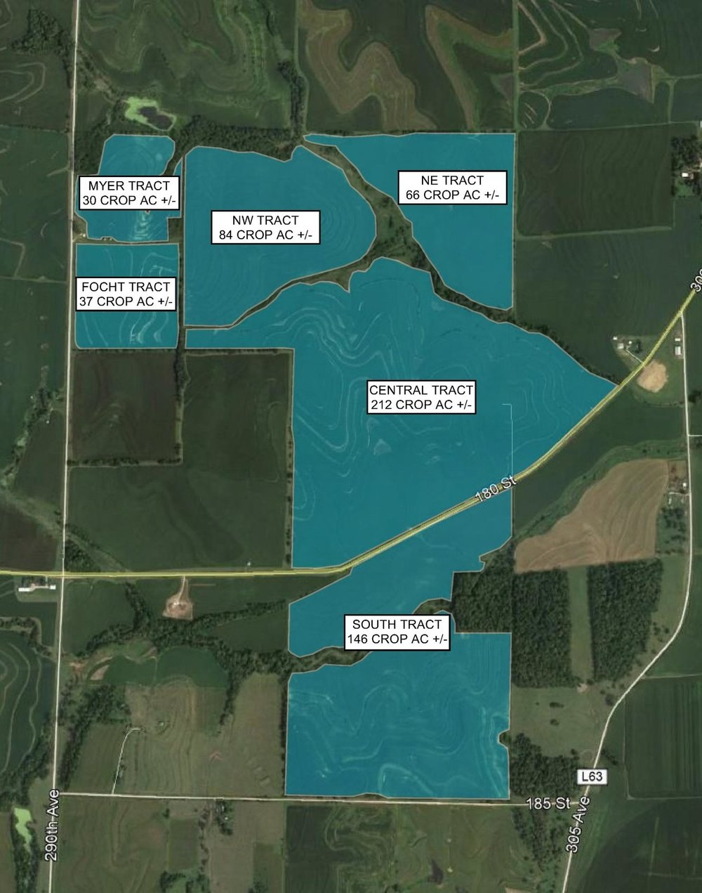 Tract Map: 575 Crop Acres