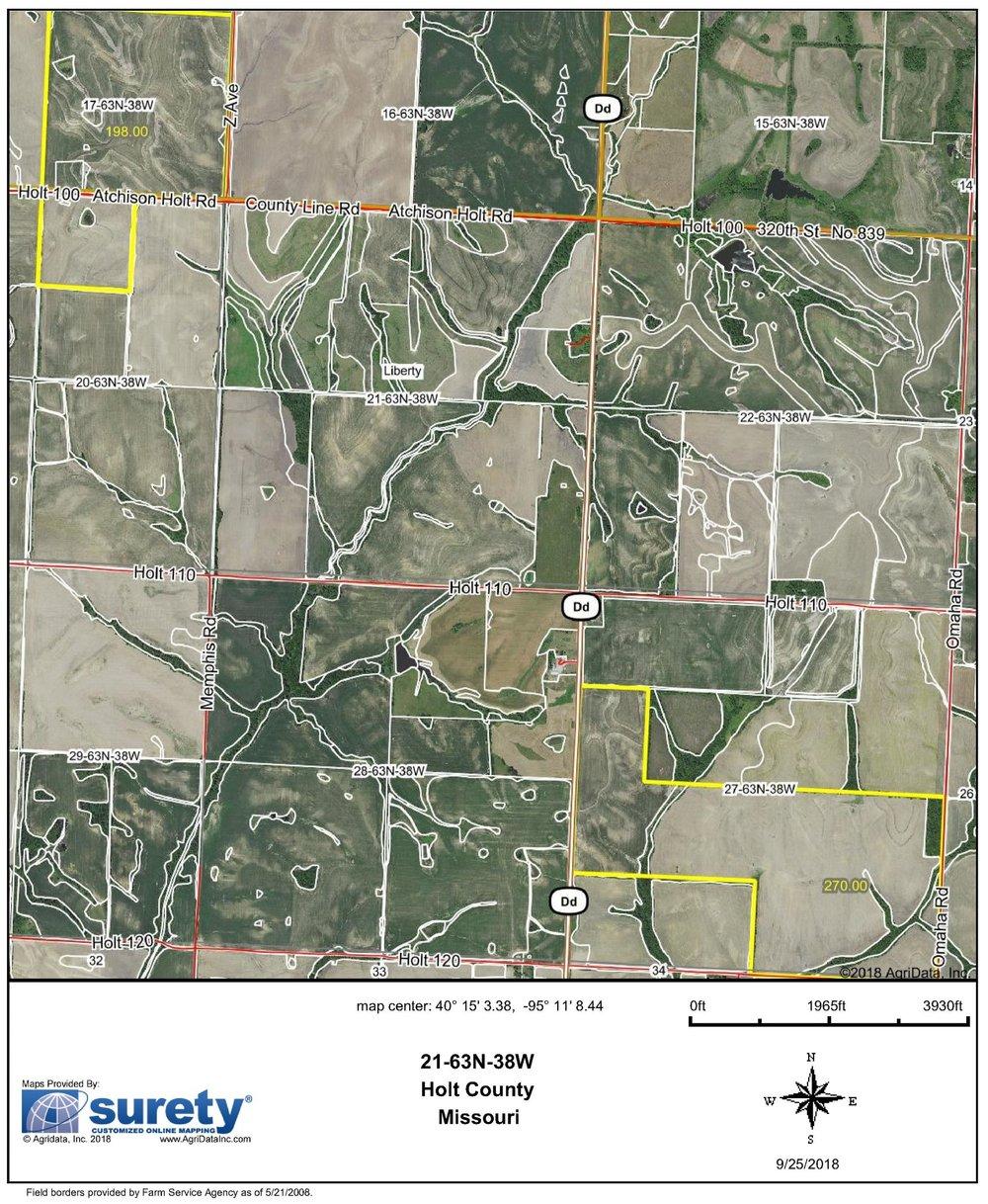 FSA Map: 468 Farm Acres