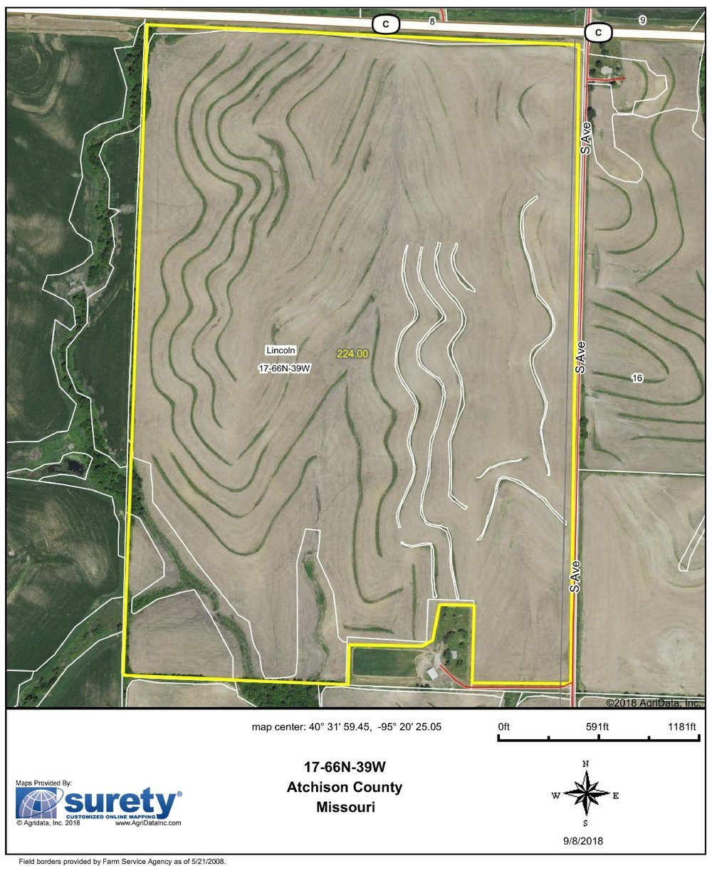 FSA Map: 224 Farm Acres