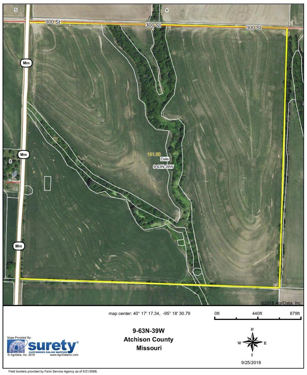 FSA Map: 161 Farm Acres