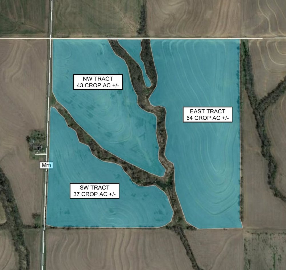 Tract Map: 144 Crop Acres