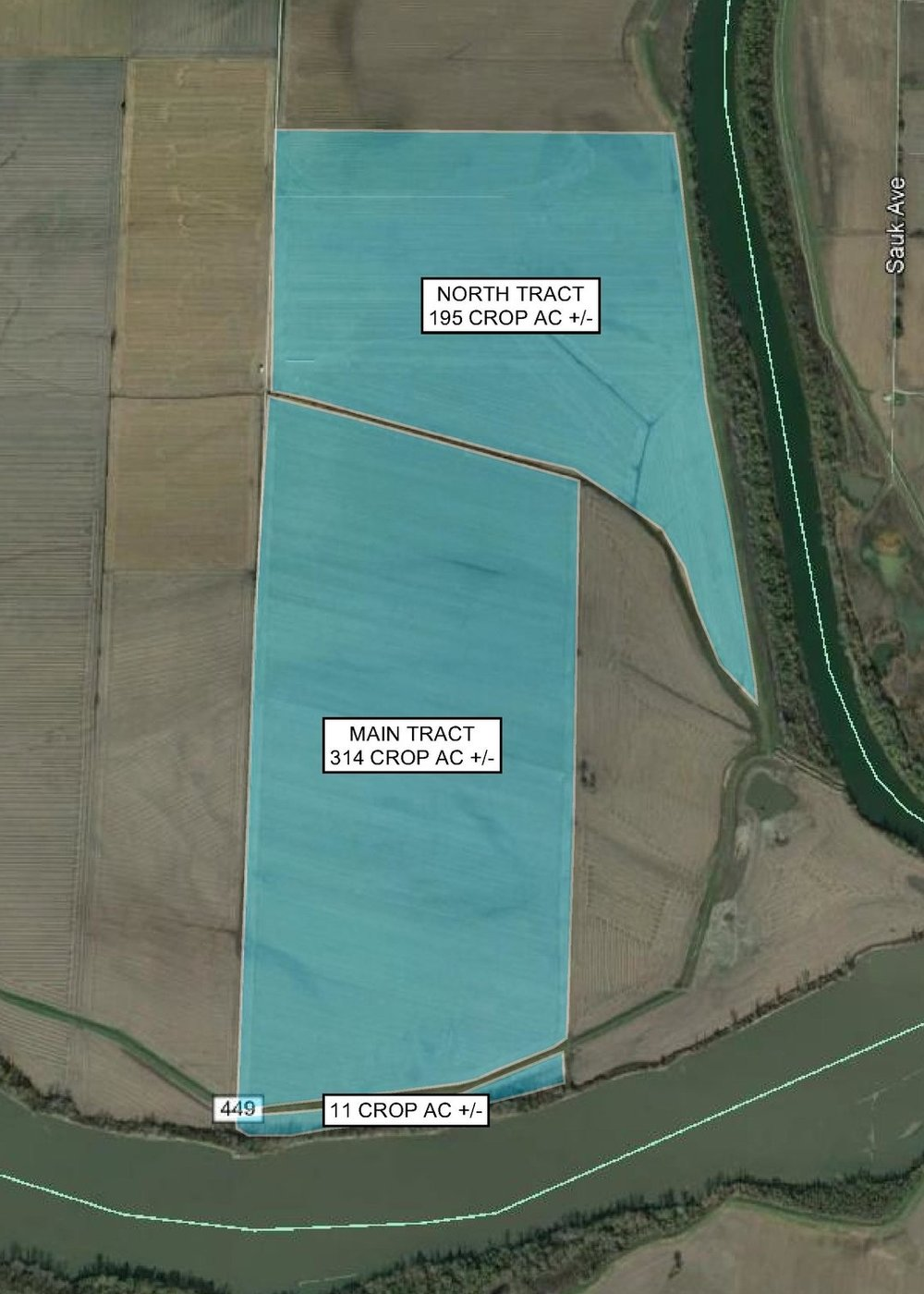 Tract Map: 520 Crop Acres