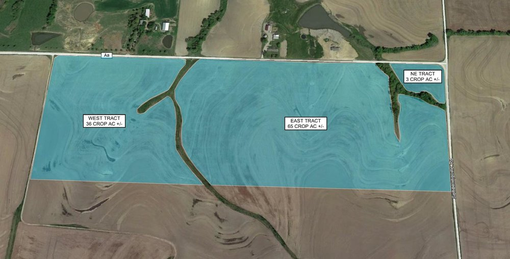 Tract Map: 104 Crop Acres