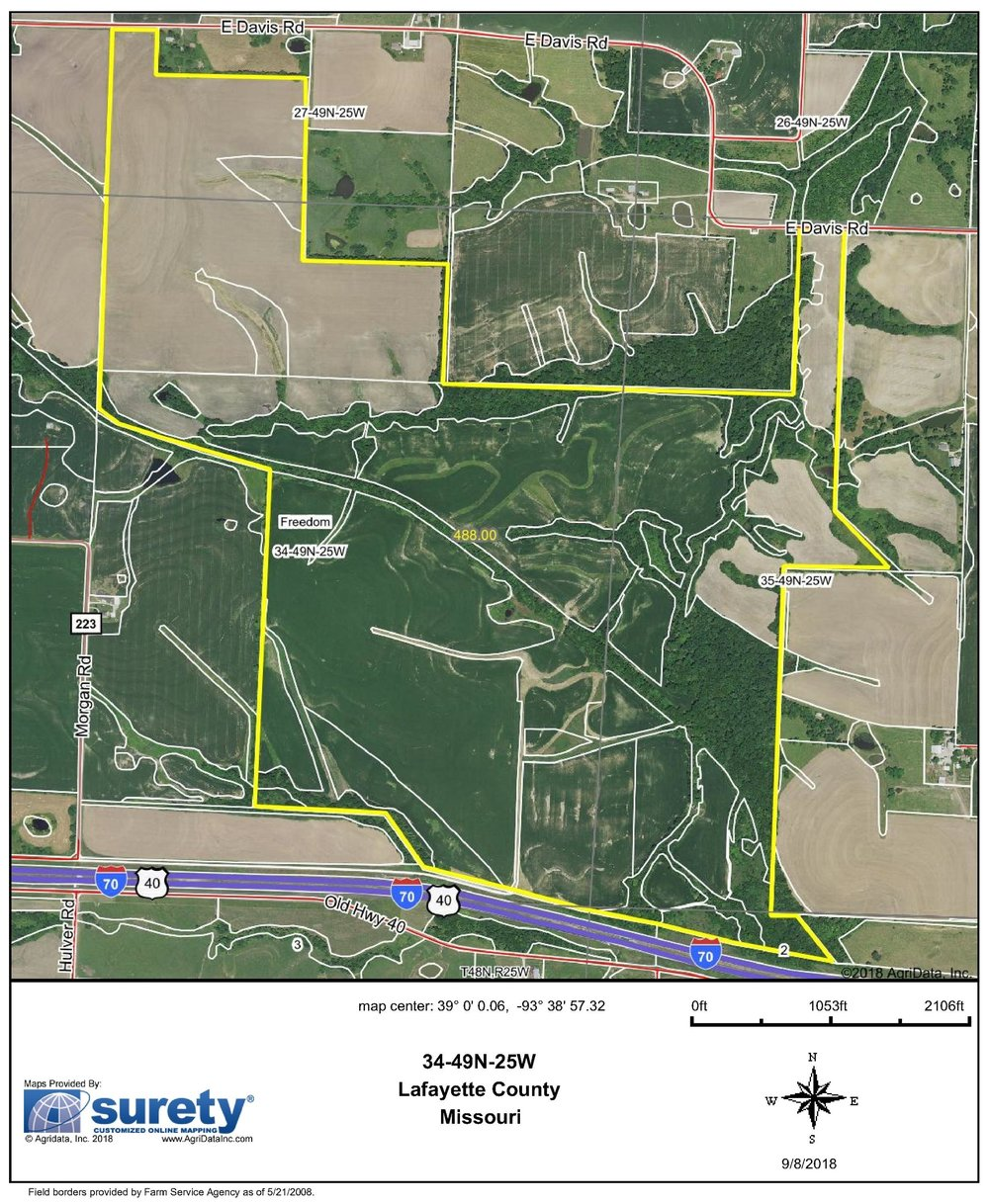 FSA Map: 488 Farm Acres