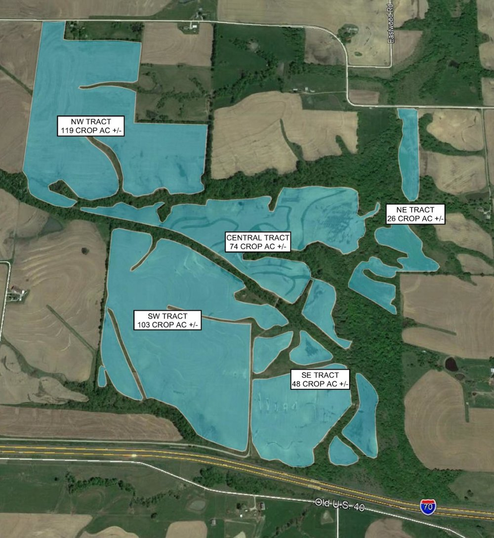 Tract Map: 370 Crop Acres