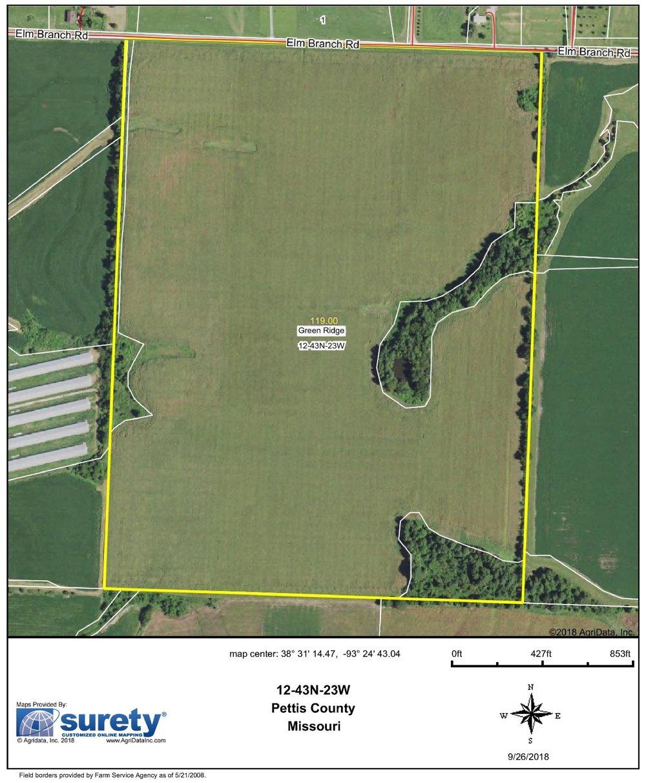 FSA Map: 119 Farm Acres