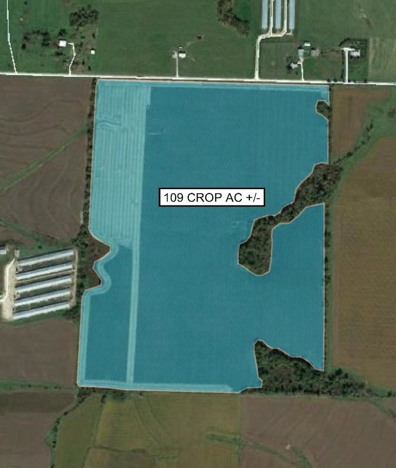 Tract Map: 109 Crop Acres