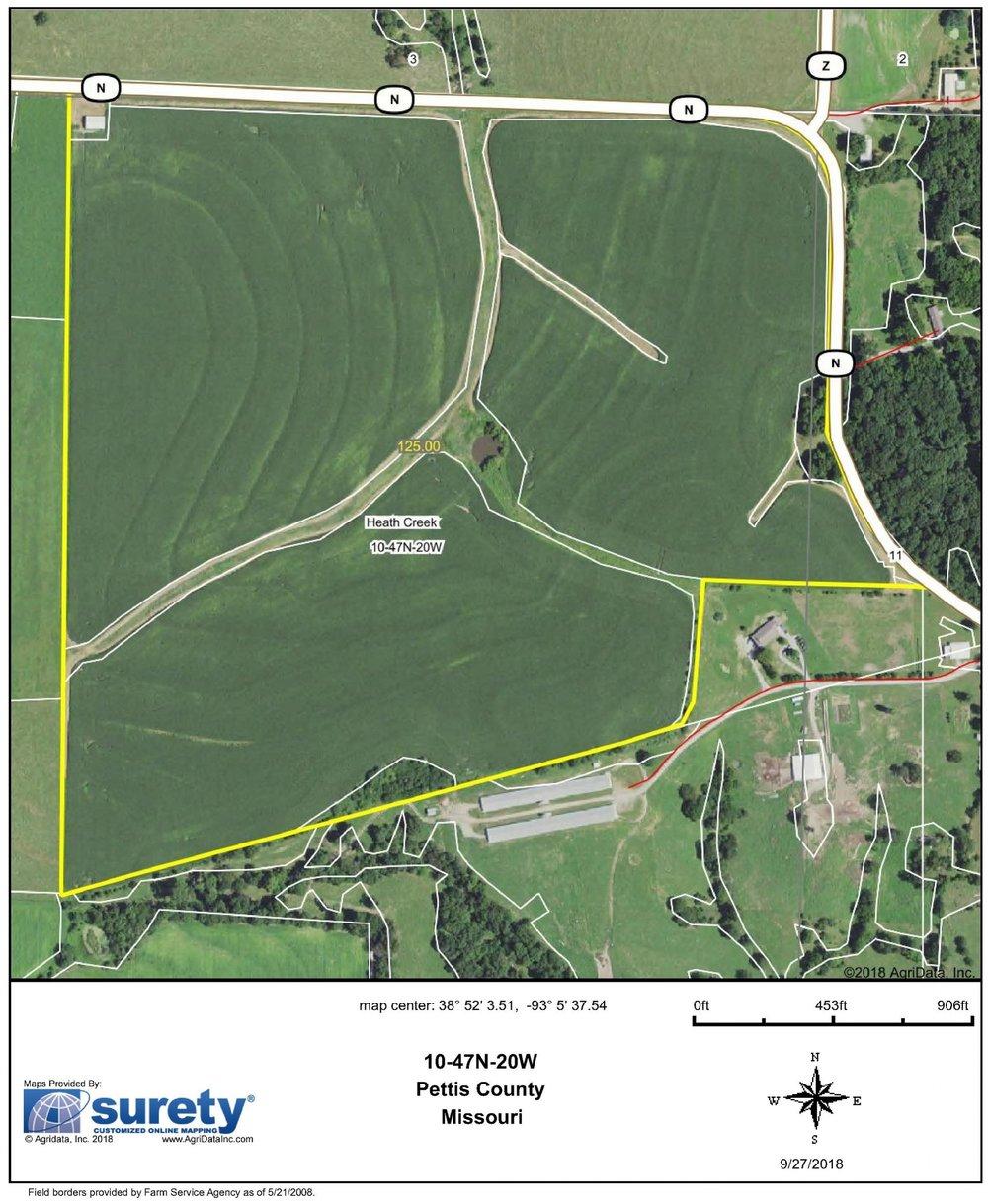 FSA Map: 125 Farm Acres