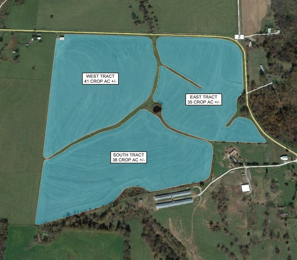 Tract Map: 114 Crop Acres