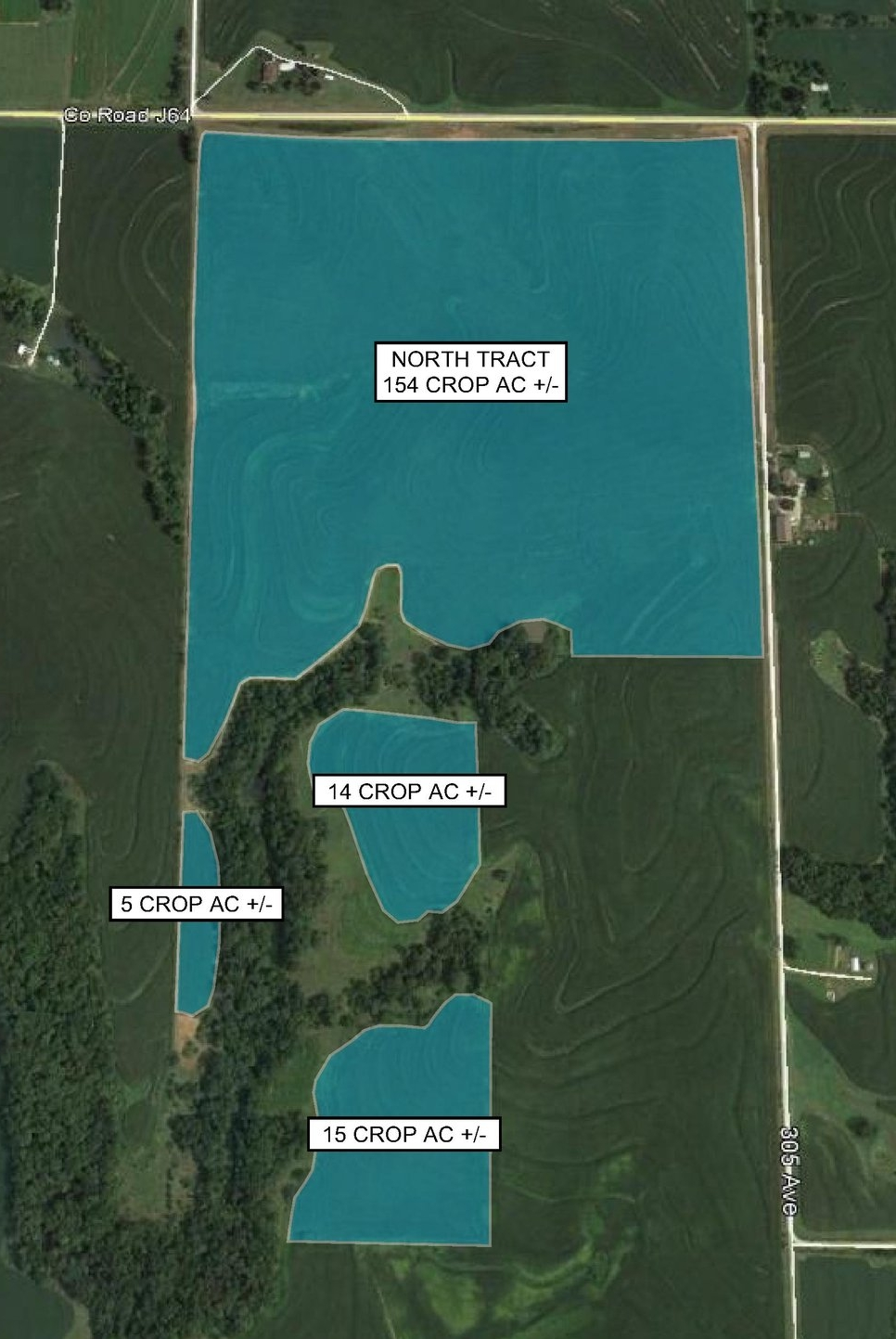 Tract Map: 188 Crop Acres