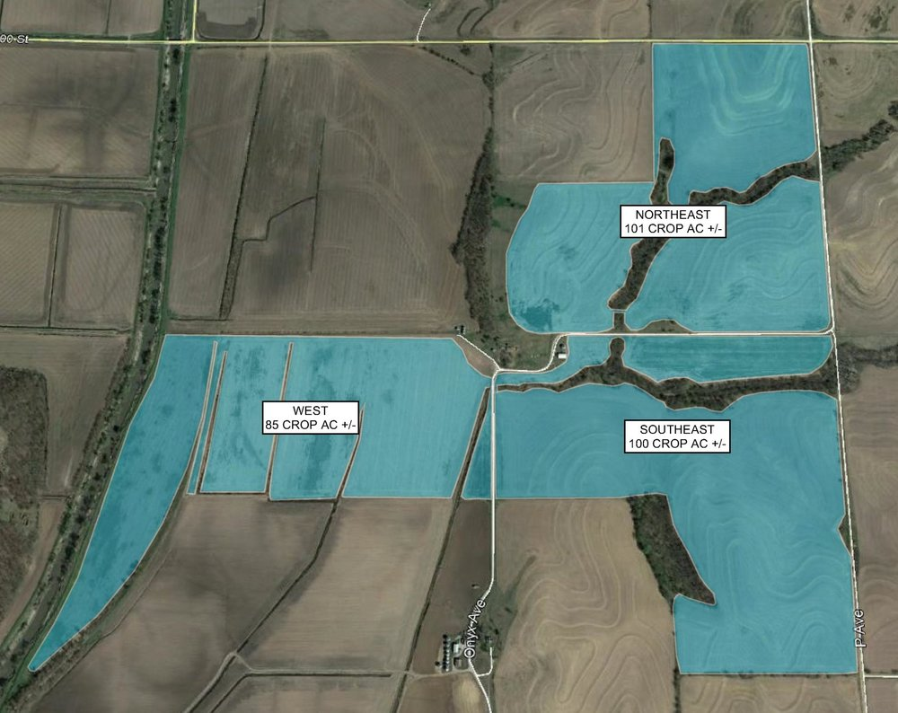 Tract Map: 286 Crop Acres