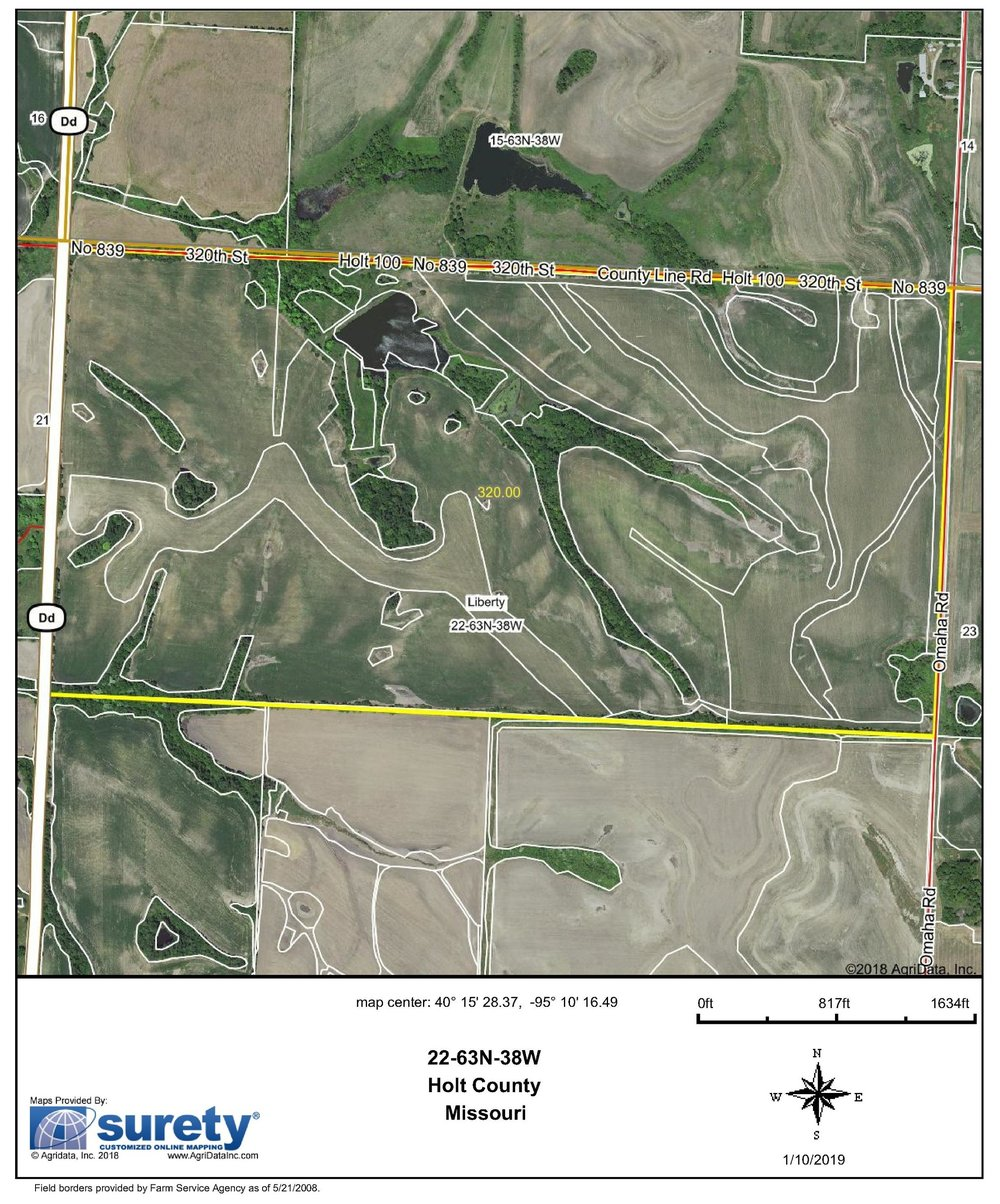 FSA Map: 320 Farm Acres