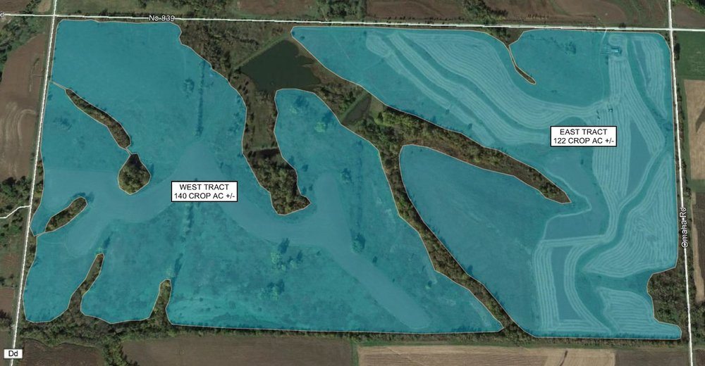 Tract Map: 262 Crop Acres