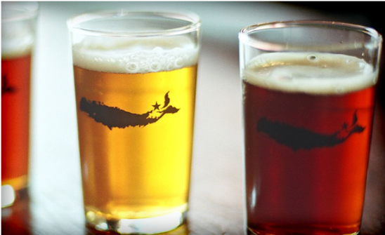 Drinks - Greenport Brewery Brix & Rye Kontokosta Winery