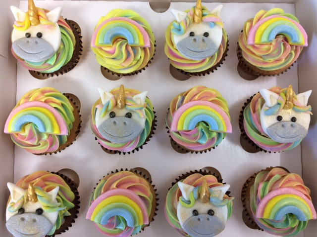 Unicorn N Rainbow Cupcakes Troll Giant Cupcake