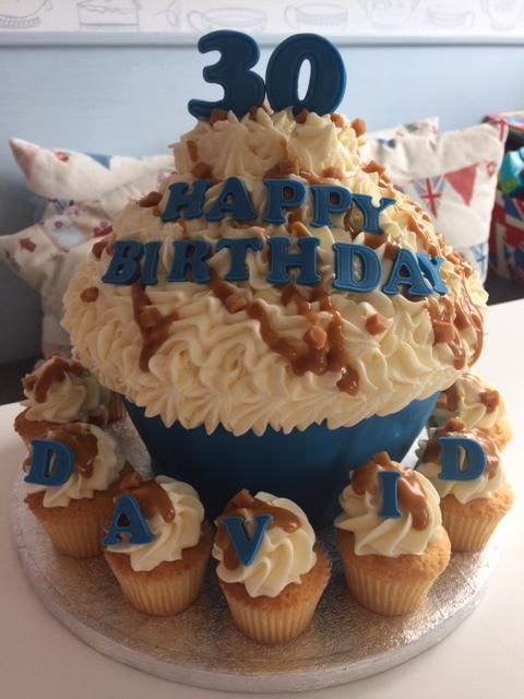 Happy Birthday Giant Cupcake.JPG