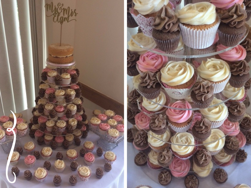 Mr & Mrs Elam - Brown, pinks and creams graced with a golden shimmer, a marriage made in heaven