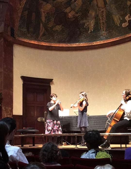 Improvising at the Wigmore Hall!
