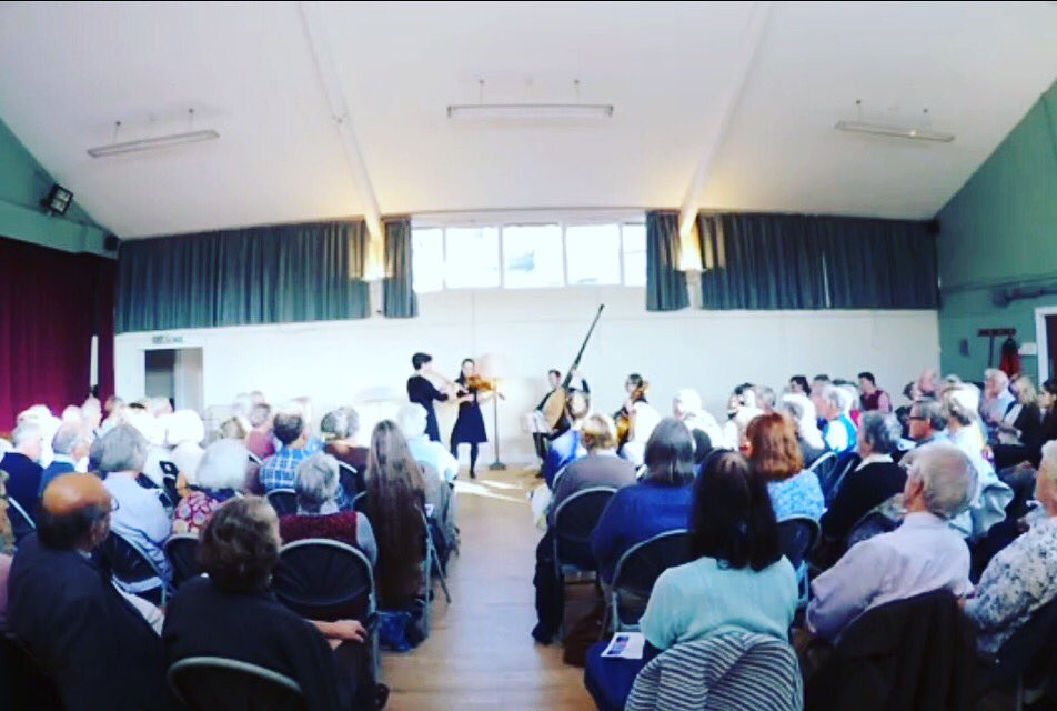 Concert in Charlbury, Oxfordshire where we raised nearly £1000 for Syrian refugees