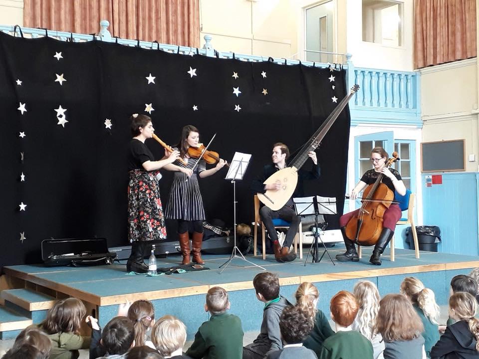 Workshop at Elm Grove Primary School