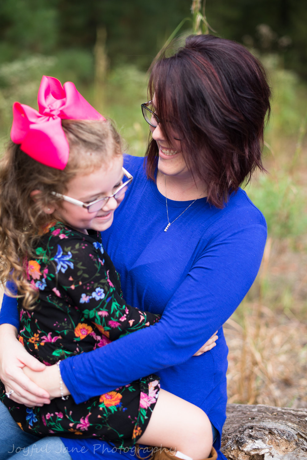 mother daughter hug, family connection photography