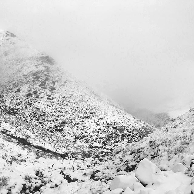 Peaks. • • • #themonochromerambler #peakdistrict #blackandwhitephotography #weekendtrip #hillwalking #mountainclimbing #snowsnowsnow #mistymountaintop