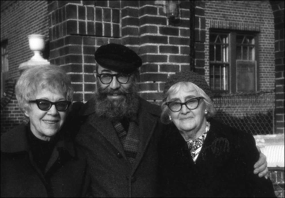 Roy With Sister, Lorraine Barry, and Mother, Mildred Zimptbaum