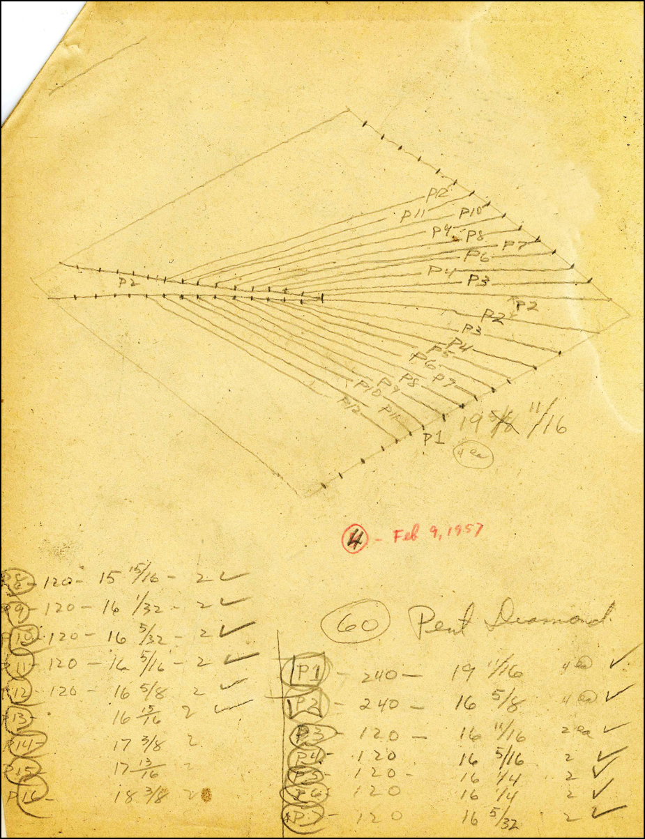 Sketch for American Pavilion, International Trade Fair, Bangkok, Thailand and Tokyo Japan - 1956