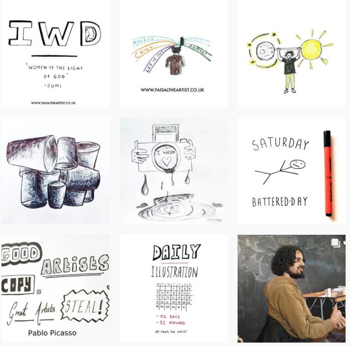 31 illustrations march 1