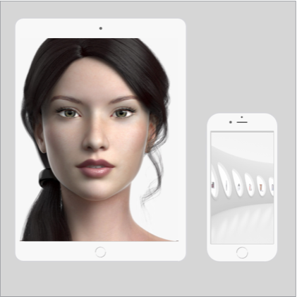 Digital Avatar Brand Promotions + Mobile App Air Drops