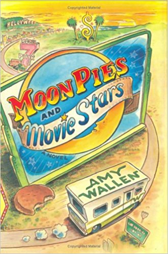 Moon Pies and Movie Stars - Viking Adult/ Penguin Group ISBN 0670038172 Cover art © 2006 Ross MacDonald Paperback, June 24, 2008 Hardcover December 28, 2006A laugh-out-loud romp across America pits a feisty Texas momma against the Hollywood machine Ruby Kincaid is busy these days—running her late husband's bowling alley, wrangling her pistol of a sister, and chasing after the two grandchildren her daughter abandoned. When she sees her runaway daughter Violet starring in a TV commercial, there's only one choice and Ruby knows it—Hollywood or bust. Ruby packs a Winnebago with two friends, two unruly grandkids, and a mondosize package of MoonPies and hightails it to California to fetch her wayward daughter. In a madcap road trip from the dusty flats of Texas to the glittering aisles of The Price Is Right, Ruby survives with a little pluck and some Texas spunk. Fans of Lorna Landvik and Billie Letts will love this tender and side-splittingly funny story of indomitable spirit and unstoppable force.