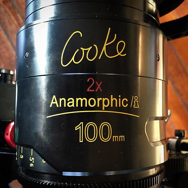 Love these lenses #Cooke #anamorphic #documentary #cardinalmedia