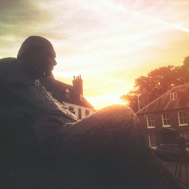Sunrise timelapse with Sir Winston in Kent, England. #cardinalmedia