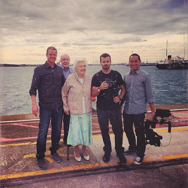 Documentary crew in Southampton, England. #cardinalmedia
