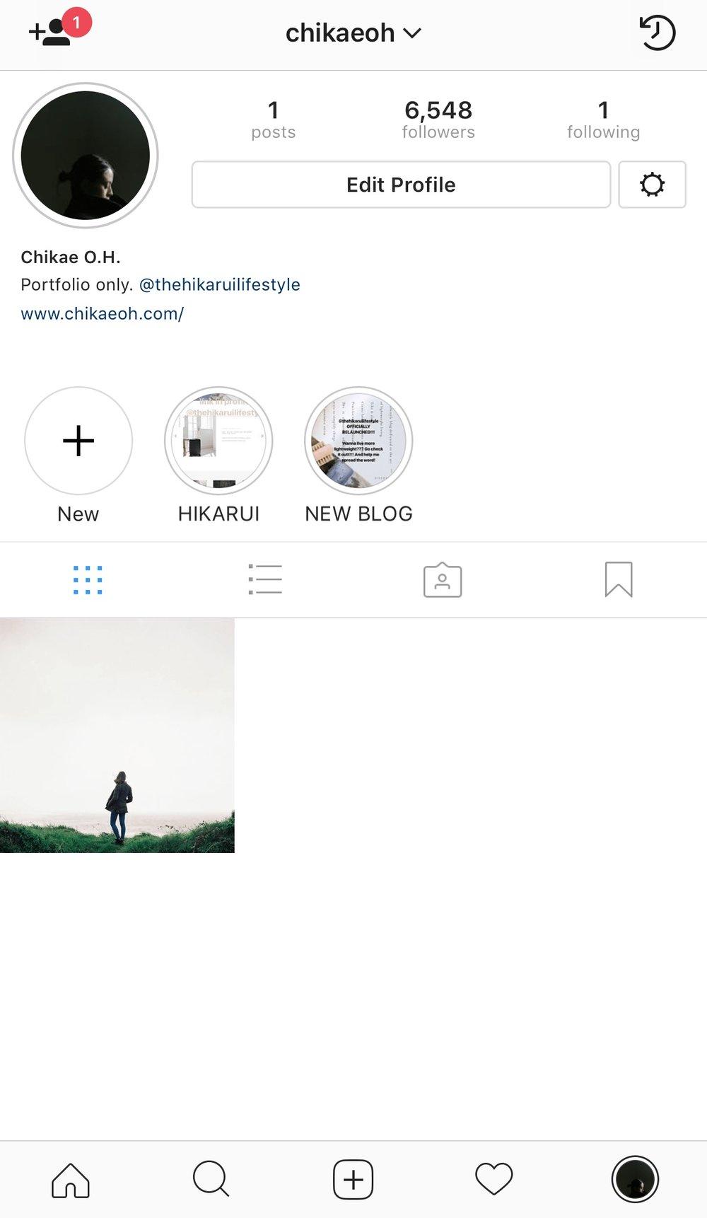 chikaeoh instagram