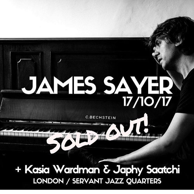 Next week // sold out show // piano - jammin' with my bro and multi- talented friend  @jamessayermusic - some new @japhysaatchi tunes // this ones gonna be a smasher :) PM me for GL if you in LDN XX