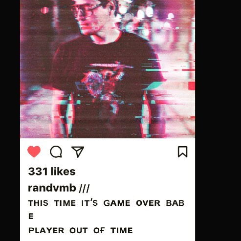 Thanks @randvmb for the @japhysaatchi lyrics quote and add to his incredibly #retrofuturistic #synthwave pop playlist - if you dig blade runner check link in his bio xx
