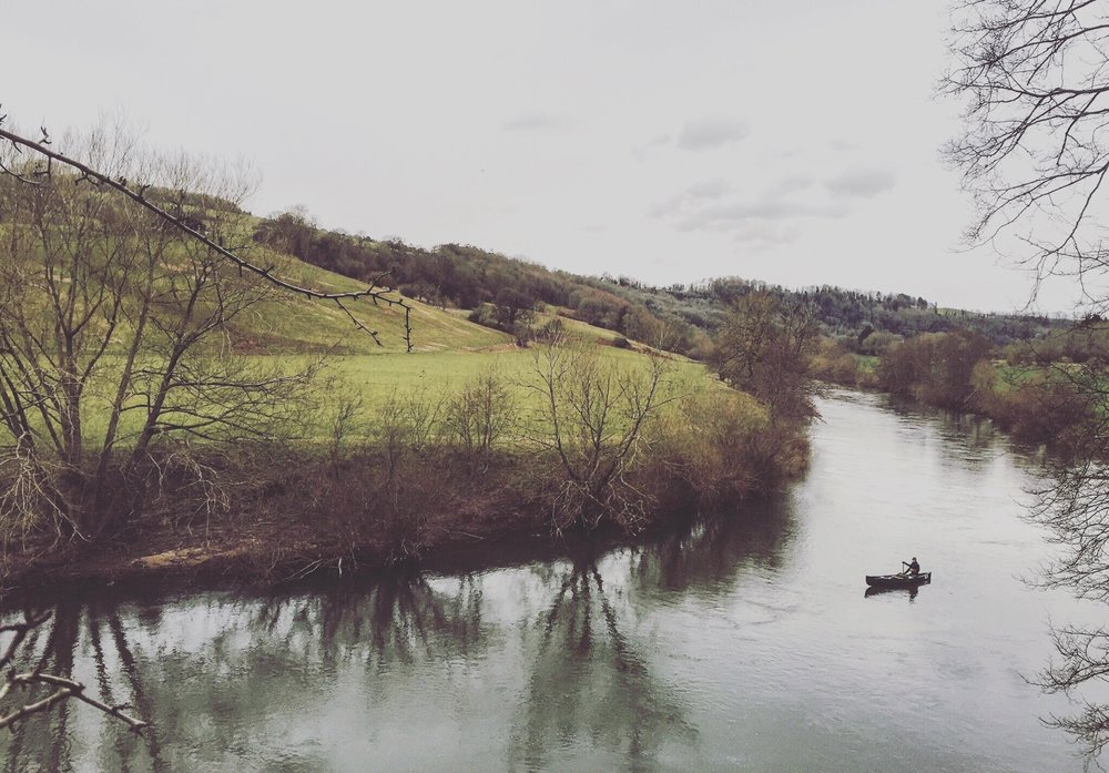 The River Wye, Wales - A source to sea canoe descent