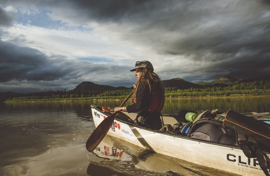 Canoe and Kayak Magazine - Pull of the North - Yukon River, Alaska