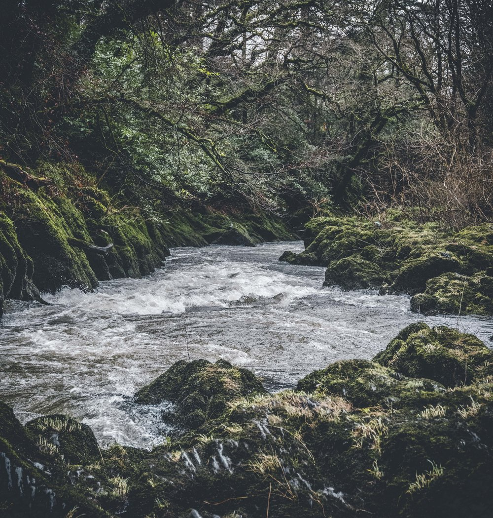 Tiefi River, Wales - A Descent To The Ocean