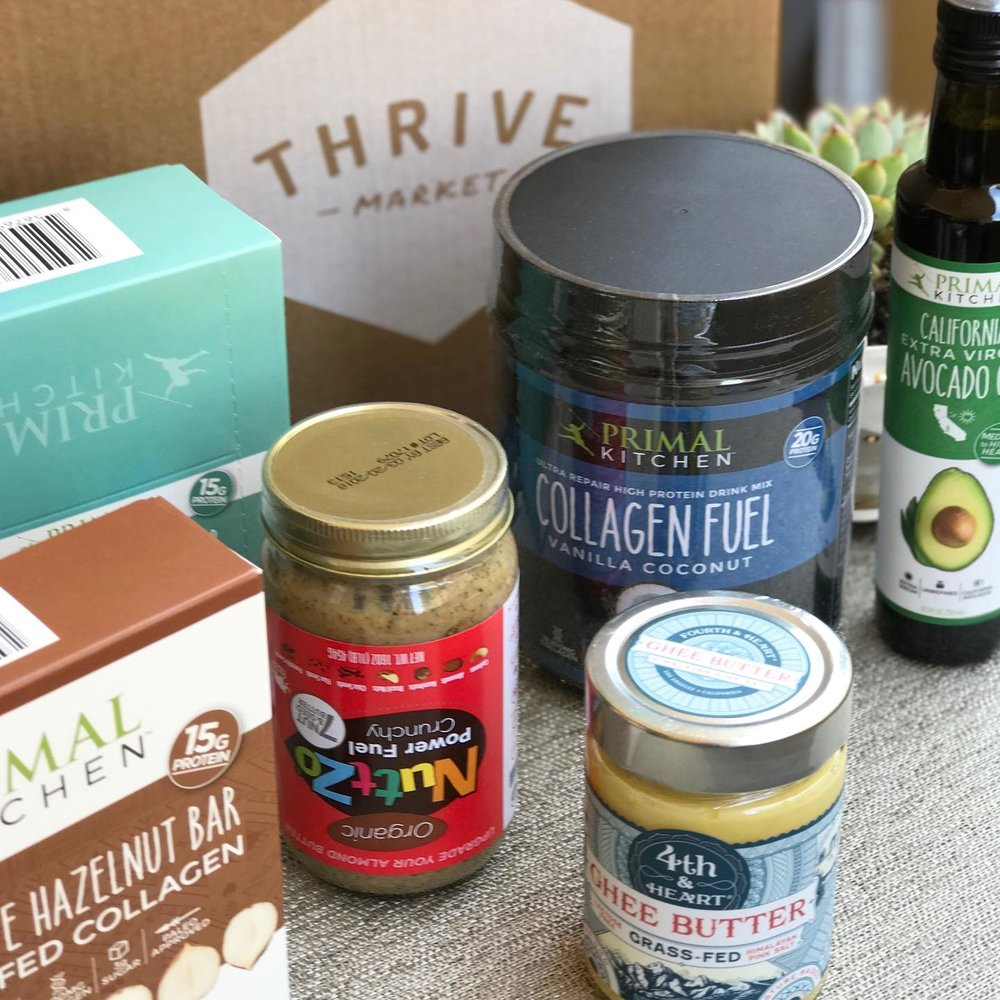 Some of my favorite healthy food items that I get from  Thrive Market .