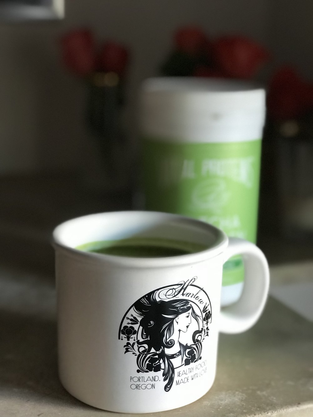 Best way to start the day.  Matcha .   Photo:  Reformation Health