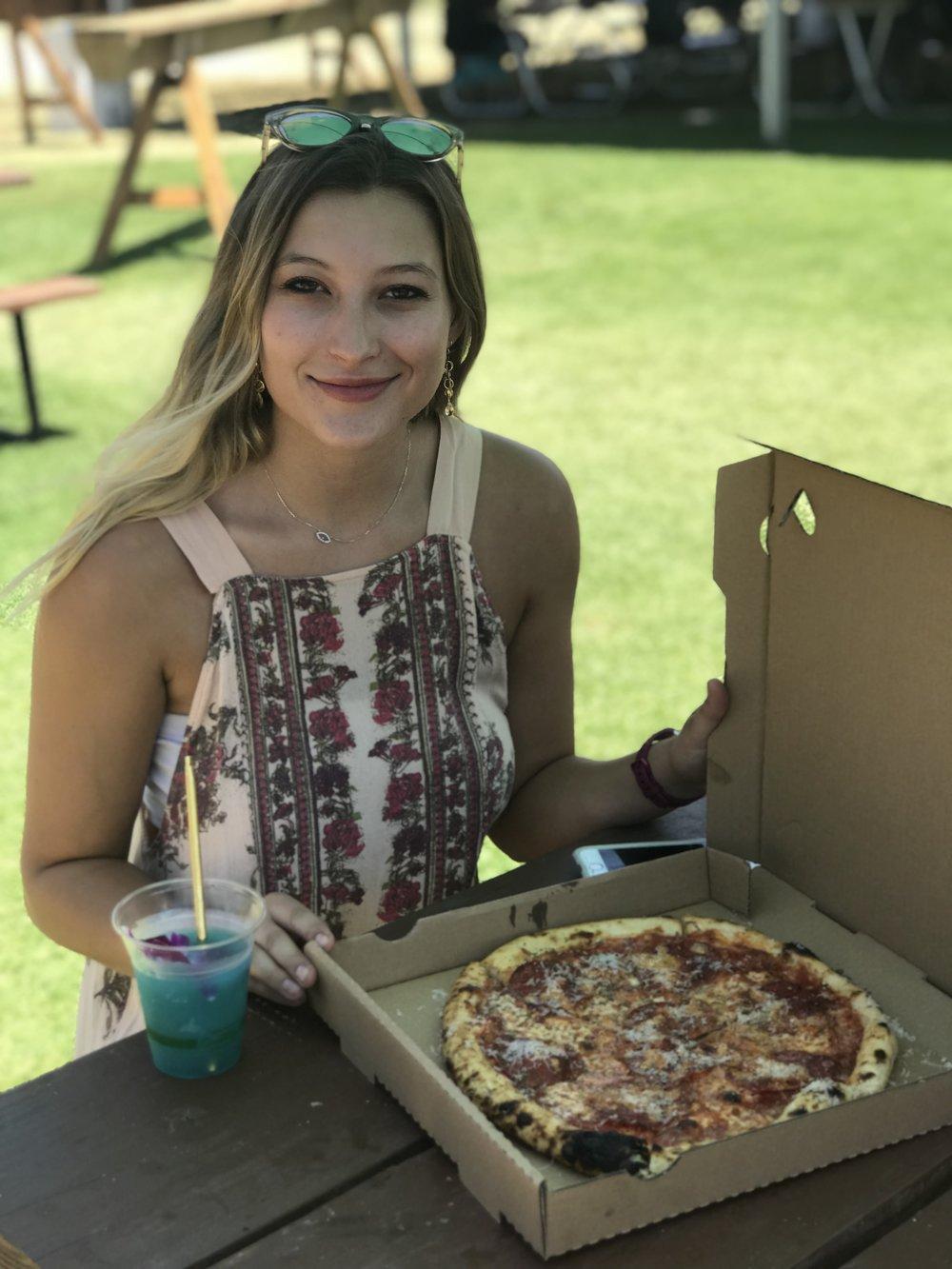The legendary pizza from  Jon & Vinnys .